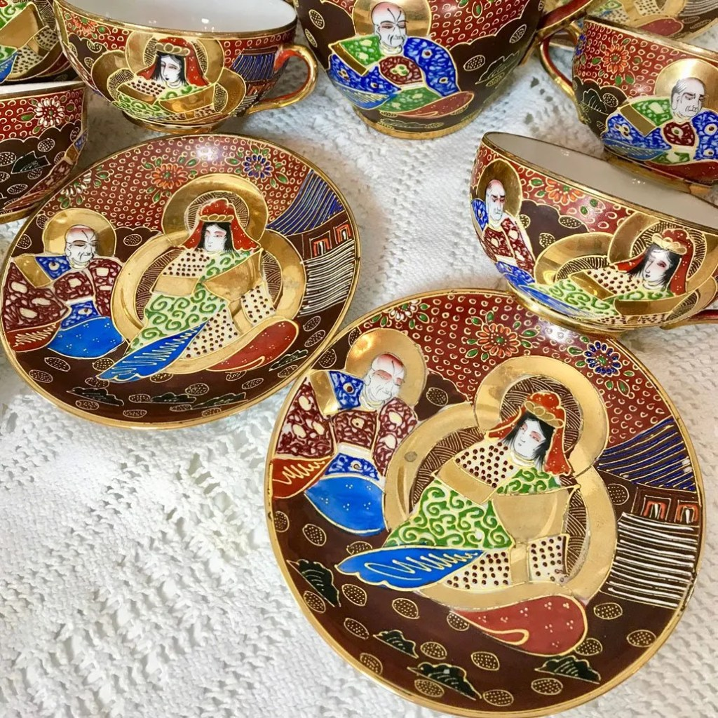 Wickstead's-Japanese-Red-Gold-Dragon-Moriage-Fine-Eggshell-Porcelain-Tea-Set-(8)