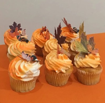 Wickstead's-Eat-Me-Edible-Orange-Butterflies-&-Maple-Leaves---Customer-Photo---A-hit-at-the-party!!-Thanks-Wickstead-Ladies!!