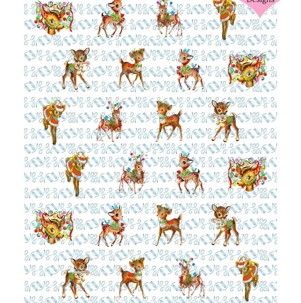 Wickstead's-Eat-Me-Edible-Chocolate-&-Meringue-Transfer-Sheets–Christmas-Reindeer-&-Deers-2
