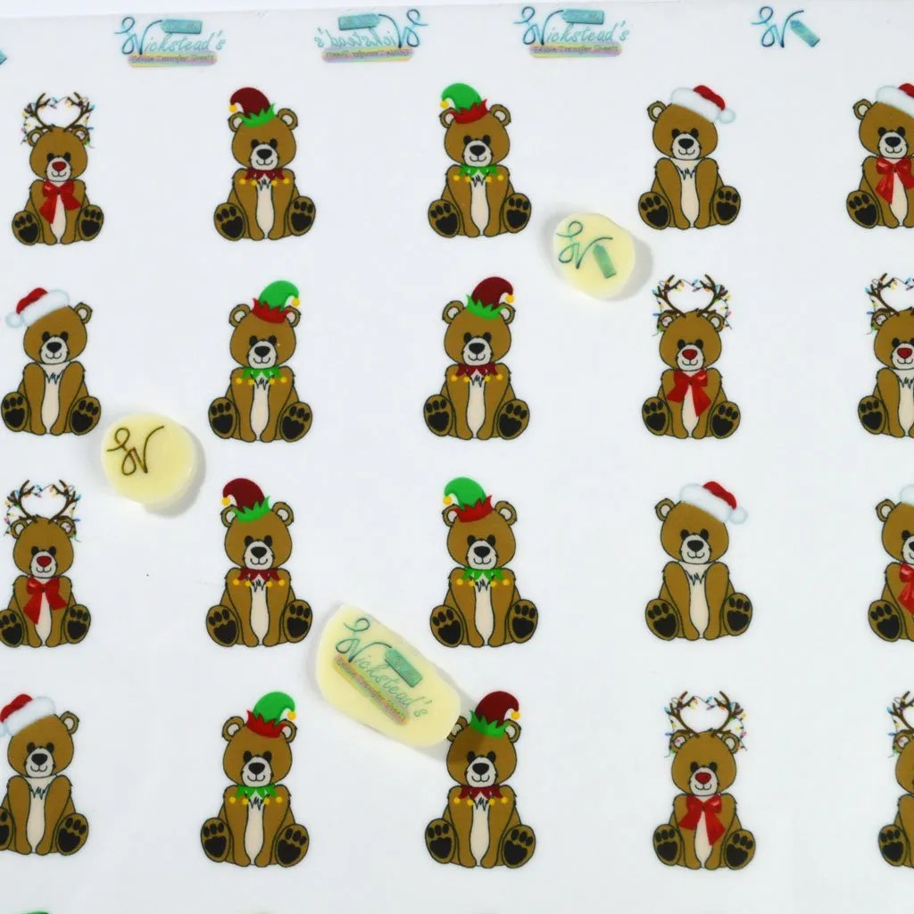 Wickstead's-Eat-Me-Edible-Meringue-&-Chocolate-Transfer-Sheets–Cute-Bears-in-Christmas-Outfits-Santa-Rudolph-&-Elves-(1)