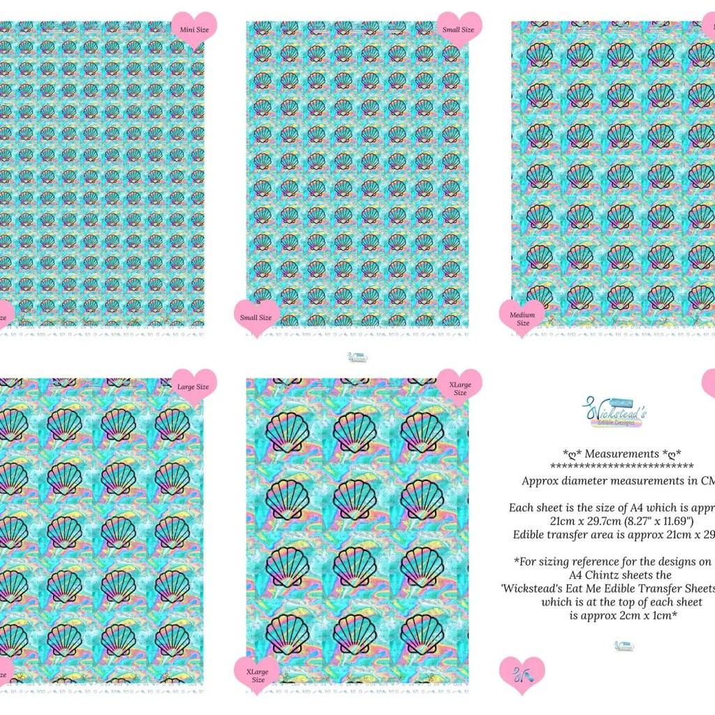 Wickstead's-Eat-Me-Edible-Meringue-Transfer-Sheets–Holographic-Aqua-Seashells-(1)