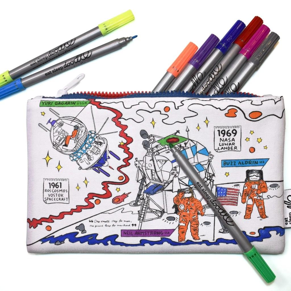 SPPEN space explorer pencil case cutout (back)