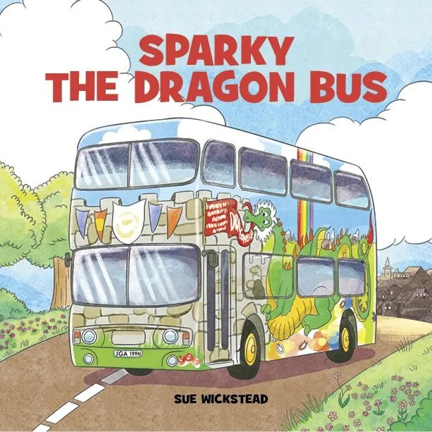 Sparky the Dragon Bus Book Cover