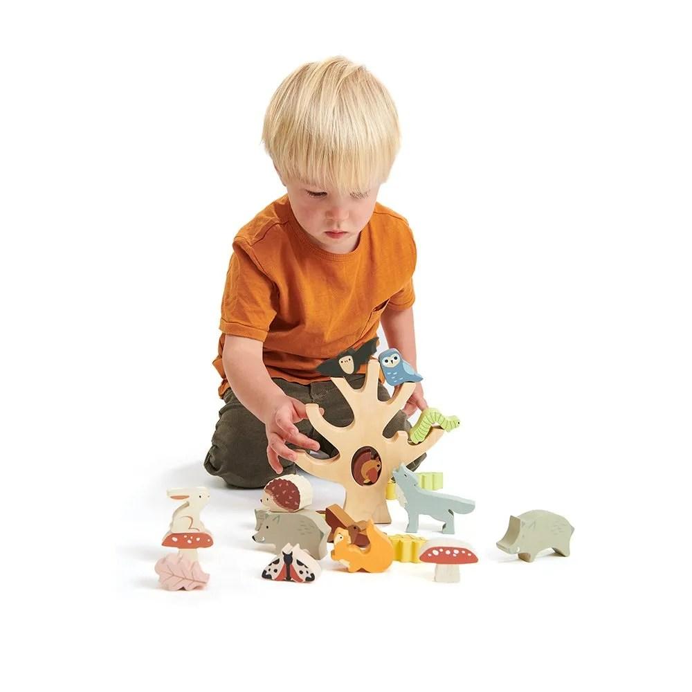 TL8409 stacking forest with boy