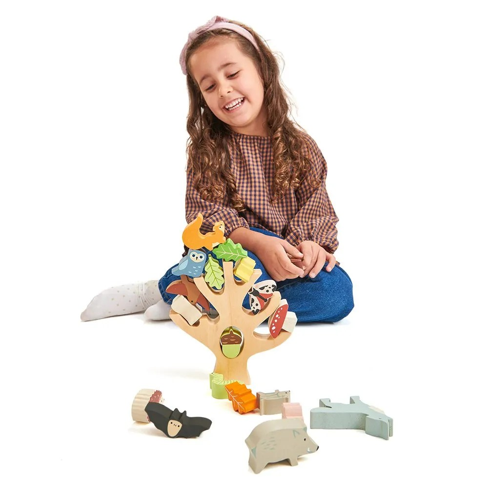 TL8409 stacking forest with girl