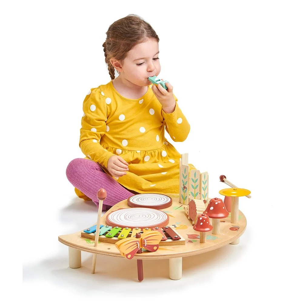 TL8655 music set with girl blowing whistle