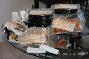 Bistro MD Week 1 Food