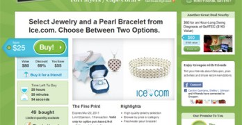 Save 50% off Jewelry at Ice.com