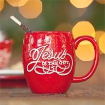 Jesus is the Gift Mug