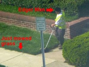 Edger Man