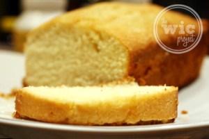 Lemon Loaf Slice