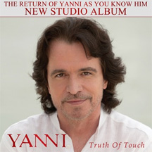 Yanni Truth of  Touch Album Cover