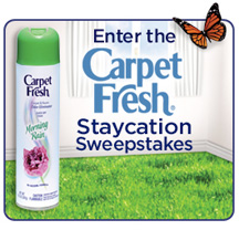 Carpet Fresh Staycation Sweepstakes