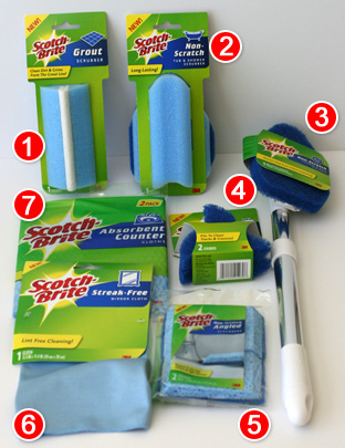 Scotch-Brite Bathroom Tools