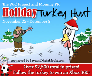 Holiday Turkey Hunt Button