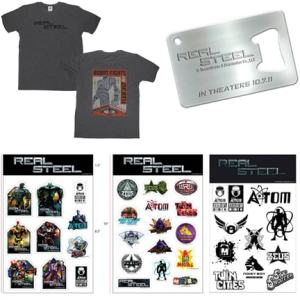 Real Steel Prize Pack