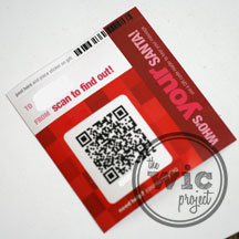 jcpenney Santa Tag