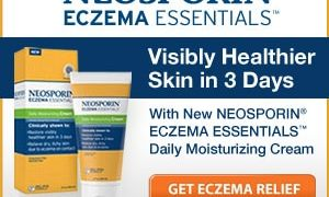 Eczema Relief from Neosporin's Eczema Essentials Products
