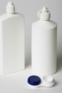 Contact Lens Solution and Case
