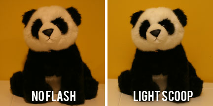 Lightscoop Comparison - No Flash