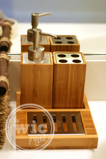 Inspirational ToiletTree Products Bamboo in Bathroom Accessory Kit