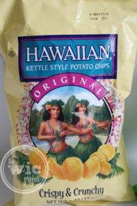 Hawaiian Kettle Style Potato Chips - Original
