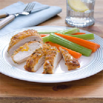 Hellmann's BBQ Cheddar Crusted Chicken