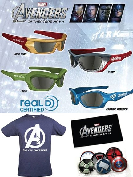 """Marvel's The Avengers"" Giveaway Prize"