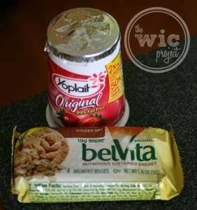 belVita Breakfast Biscuits & Yogurt
