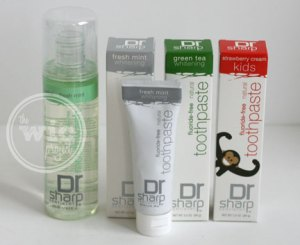 Dr. Sharp Fluoride-Free Oral Care Products