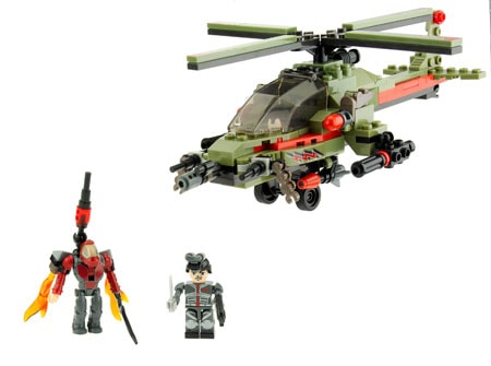 Hasbro KRE-O Battleship Combat Chopper Set