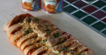 Braided Spaghetti Loaf Recipe
