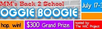 2012 Back 2 School Bloggie Boogie Blogger Sign-ups