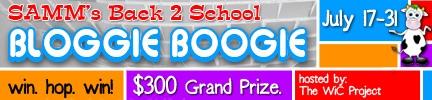 2012 Back 2 School Bloggie Boogie