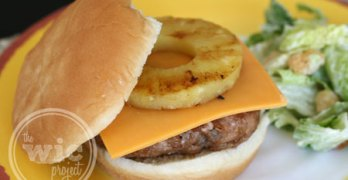 Dole Teriyaki Pineapple Turkey Cheeseburgers & Recipe #TropicalFruit #CBias
