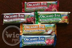 Orchard Bar Varieties