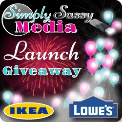 Simply Sassy Media Launch Giveaway