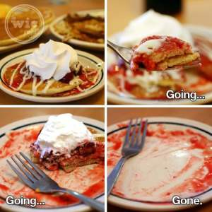 IHOP Sweet Strawberry Pancakes
