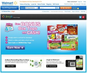 Walmart Jingit Sign-up