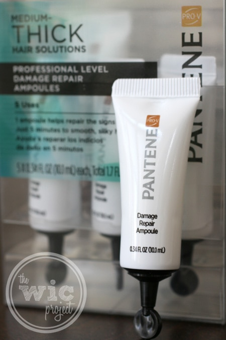 Pantene Pro-V Medium-Thick Hair Solutions Damage Repair Ampoules