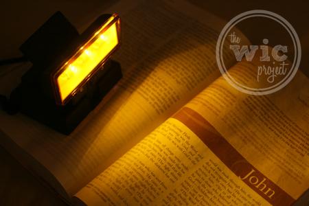Beam N Read LED Light