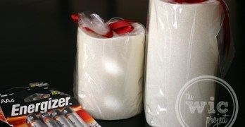 Gift Idea: Warm and Cozy Candlelight with Energizer Flameless Candles
