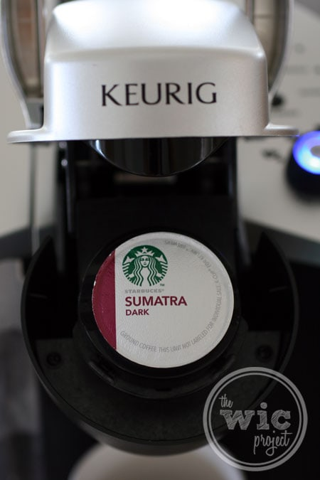 Starbucks Sumatra K-Cup