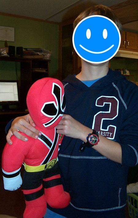 Power Rangers Plush and Watch
