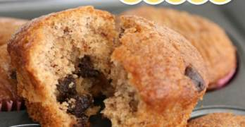 Chocolate Chip Banana Muffins Recipe