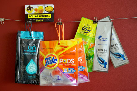Dollar General and P&G Prize Pack