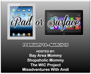 February iPad Surface Giveawey