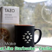 "How to Make ""Just Like Starbucks"" Vanilla Chai Tea Latte"