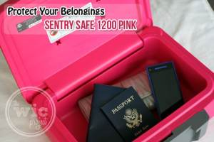 Protect your Belongings with the Sentry Safe 1200 Pink Fire Safe