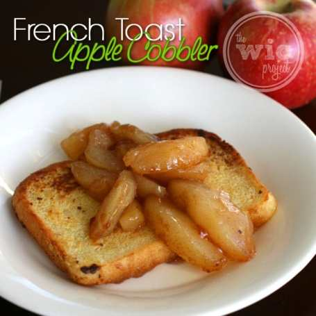 French Toast Apple Cobbler